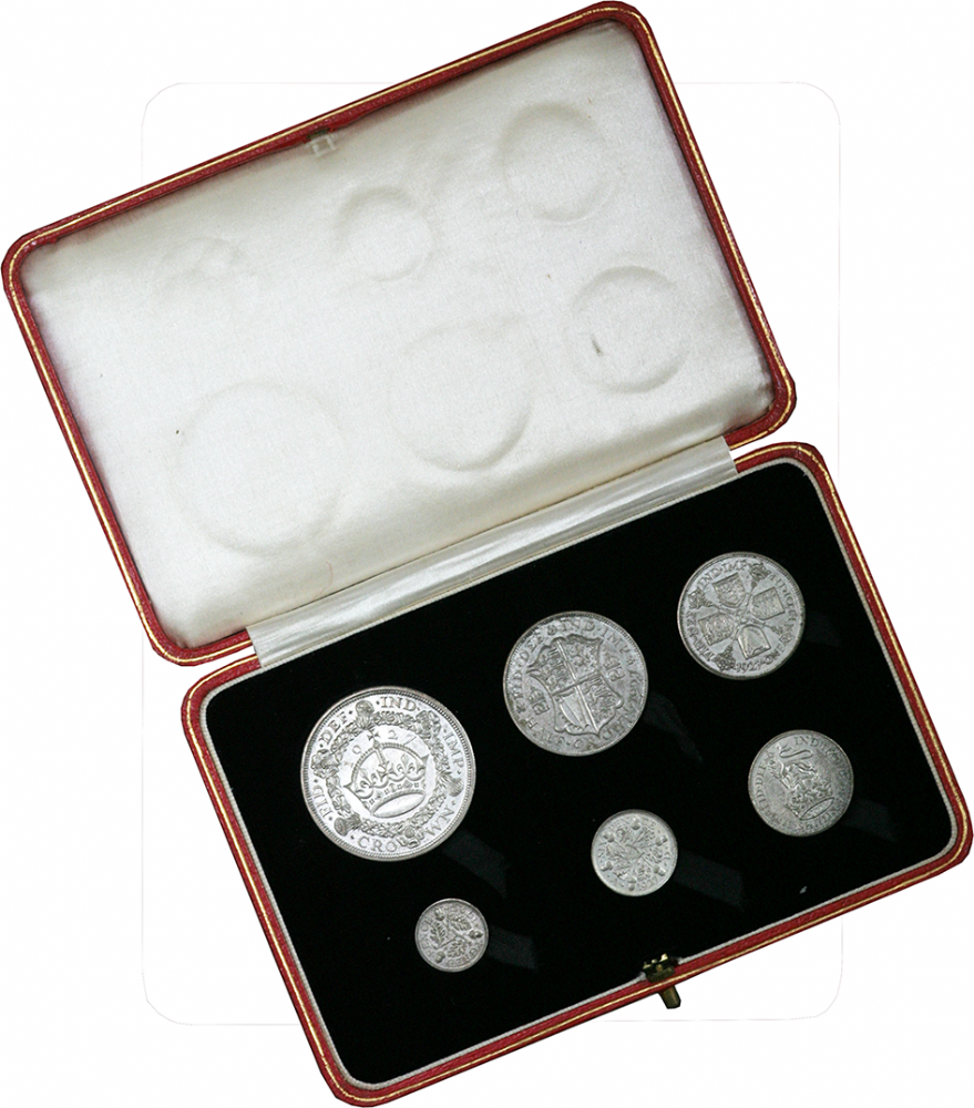 1927 Silver Proof Set of George V